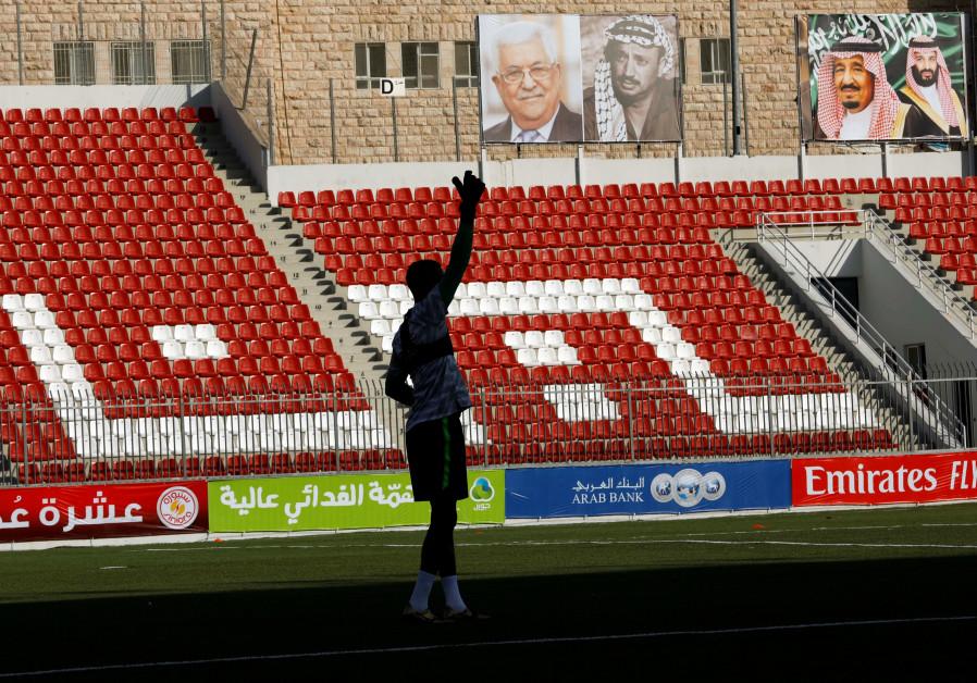 Soccer match, Abbas visit to Riyadh a sign of warming ties