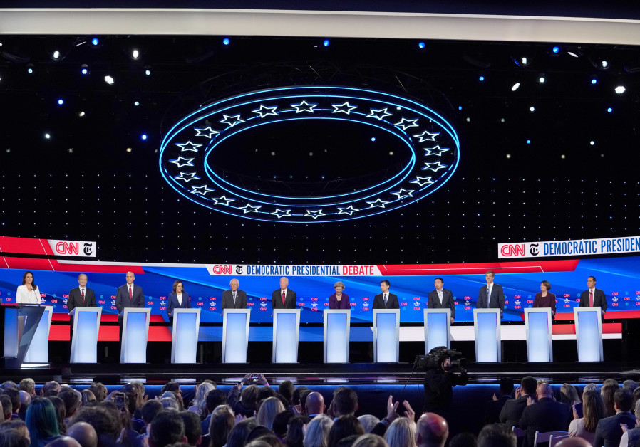 Trump Still Most Tweeted-About Politician During 4th Democratic Debate