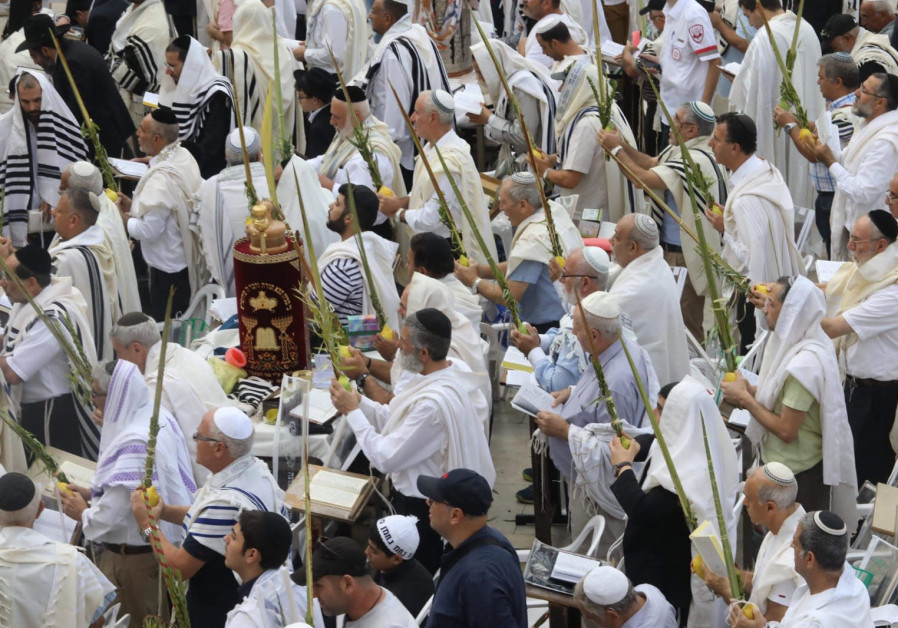 Priestly blessing at the Western Wall - Watch