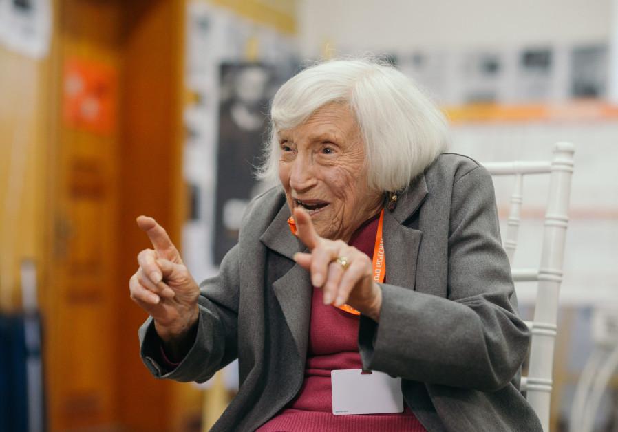 Haifa hosts the Jewish nurse who spied on the Nazis