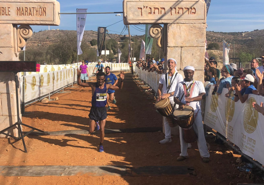 Thousands of runners take part in Bible Marathon that sees new time record