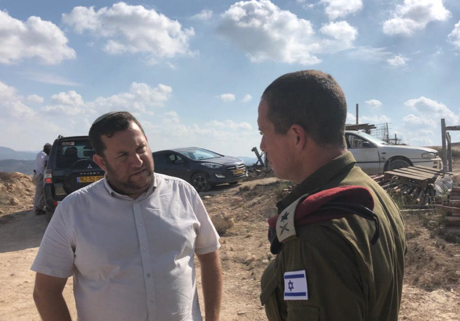 Following assault by settlers, Generals visit Yitzhar settlement