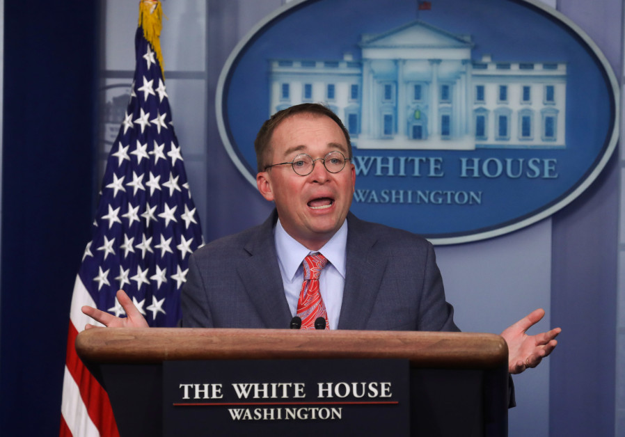 "White House's Mulvaney did not mull quitting over ""quid pro quo"" flap"
