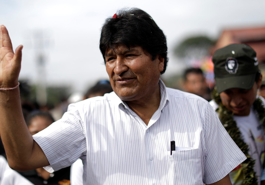 Bolivia's Morales headed to presidential runoff with chief rival Mesa