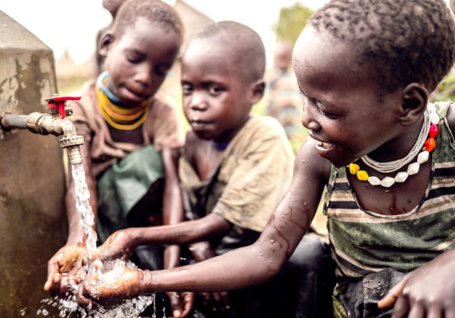 CHILDREN OF Karamoja, Uganda enjoy access to clean and safe water for the first time (Innovation: Africa)