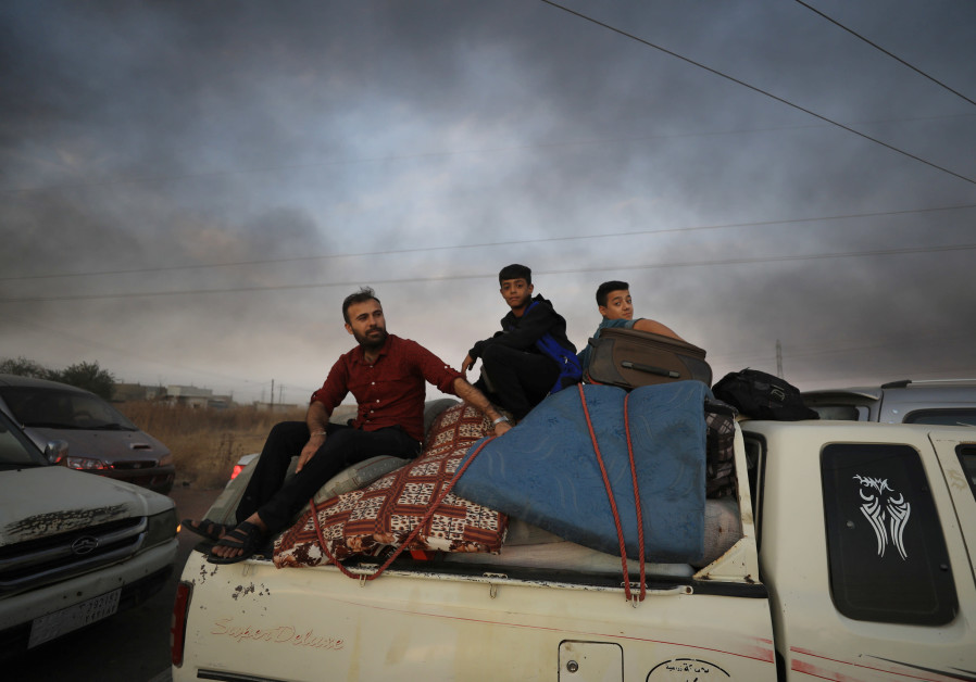 How many Syrian rebels have died fighting Turkey's war in eastern Syria?