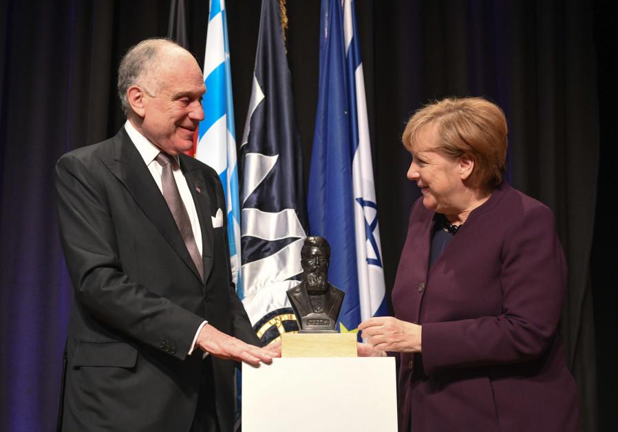 Angela Merkel deserved the World Jewish Congress award and here's why