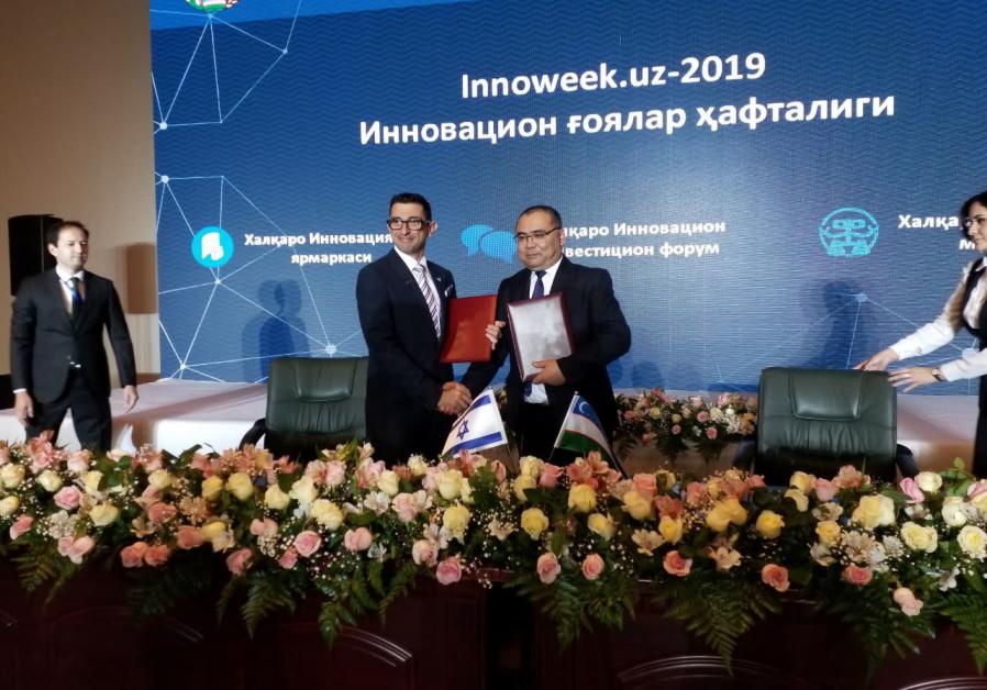 Uzbekistan signs an MOU with Watergen.