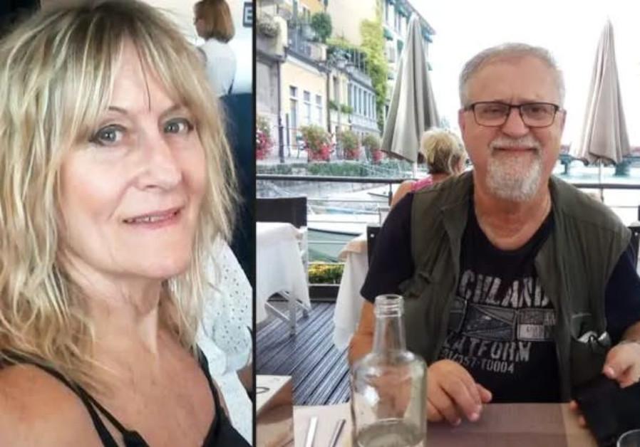 Giora Praff Perry, suspected of murdering his wife, Esti Ahronovitz