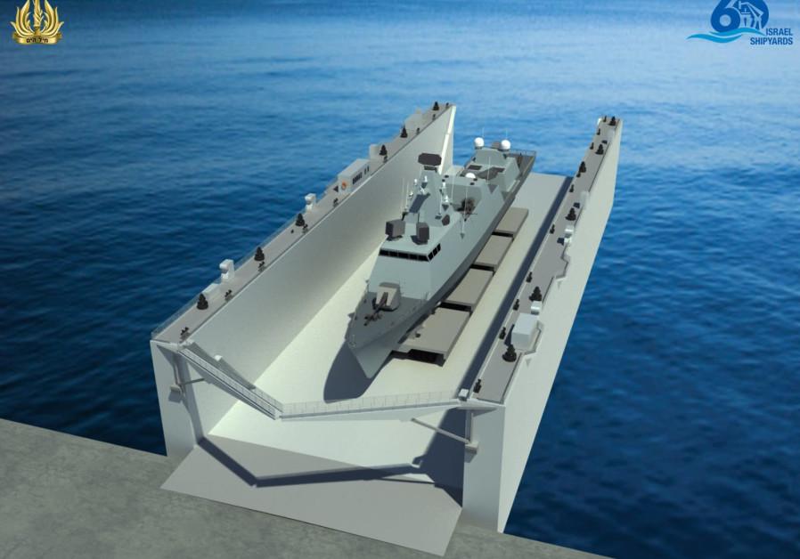 Ministry of Defense, Israel shipyards sign NIS 90 m. deal for floating dock