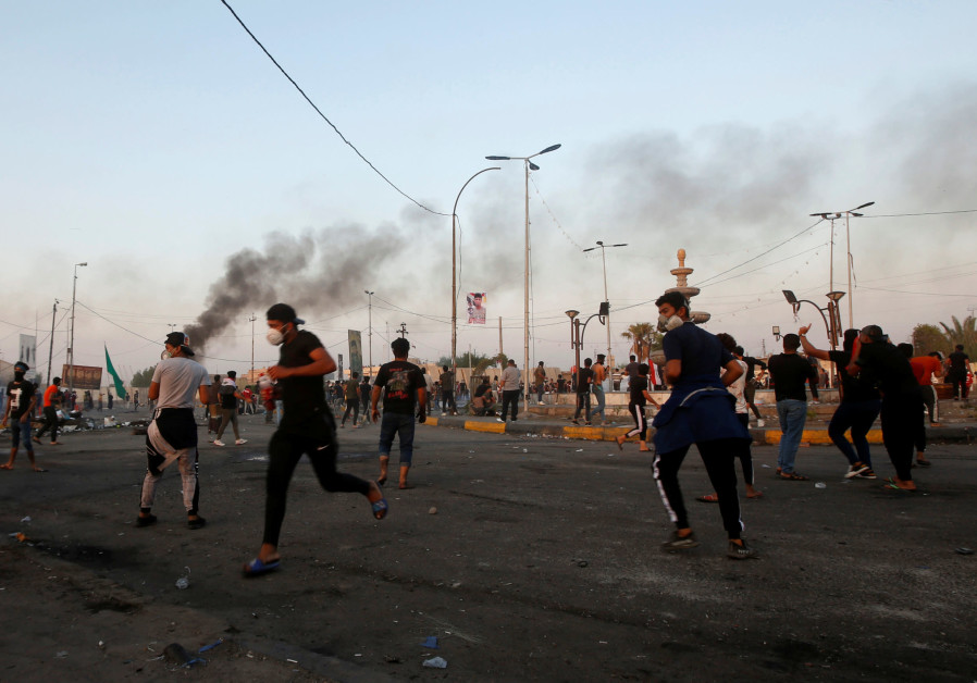 Iranian munitions used to kill protests in Iraq