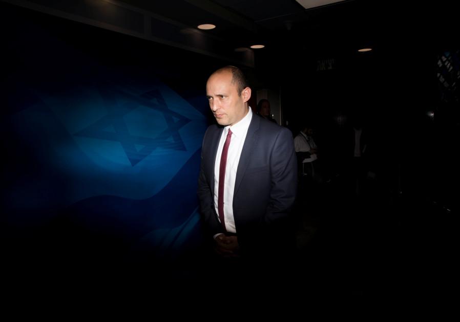 Le nouveau ministre israélien de la Défense, Naftali Bennett