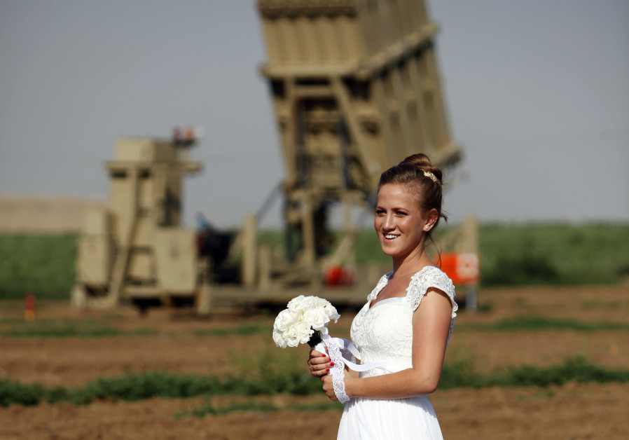 Love in Israel beats rockets from Gaza