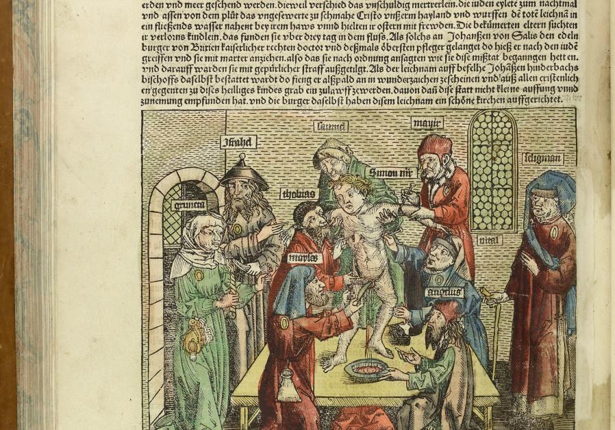 Hartmann Schedel, Liber chronicarum, Nürnberg, Anton Koberger, 1493, Trento, Municipal Library (Museo Diocesano Tridentino)