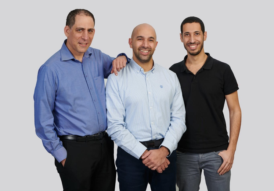 TriEye founders - from left to right - Prof. Uriel Levy -CTO, Avi Bakal -CEO and Omer Kapach - VP Research and Development