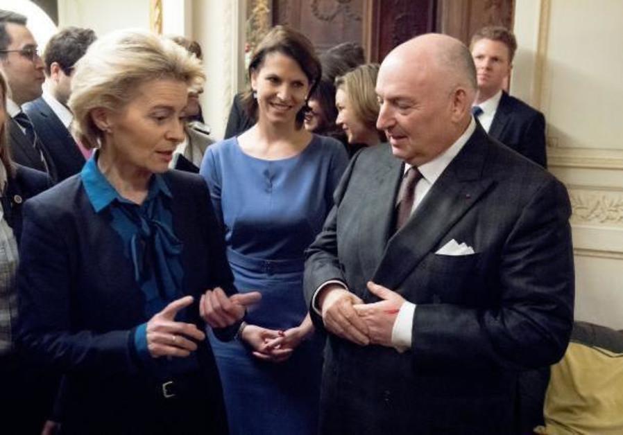 Kantor meeting with European Commission President Ursula von der Leyen in December, 2019
