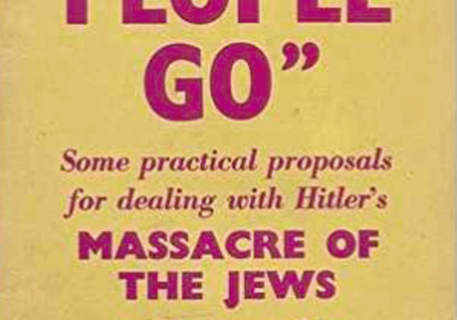 Let My People Go Some practical proposals for dealing with Hitler's Victor Gollancz MW Books 1943 32 pages; $14.99 (Original British price 3 cents)