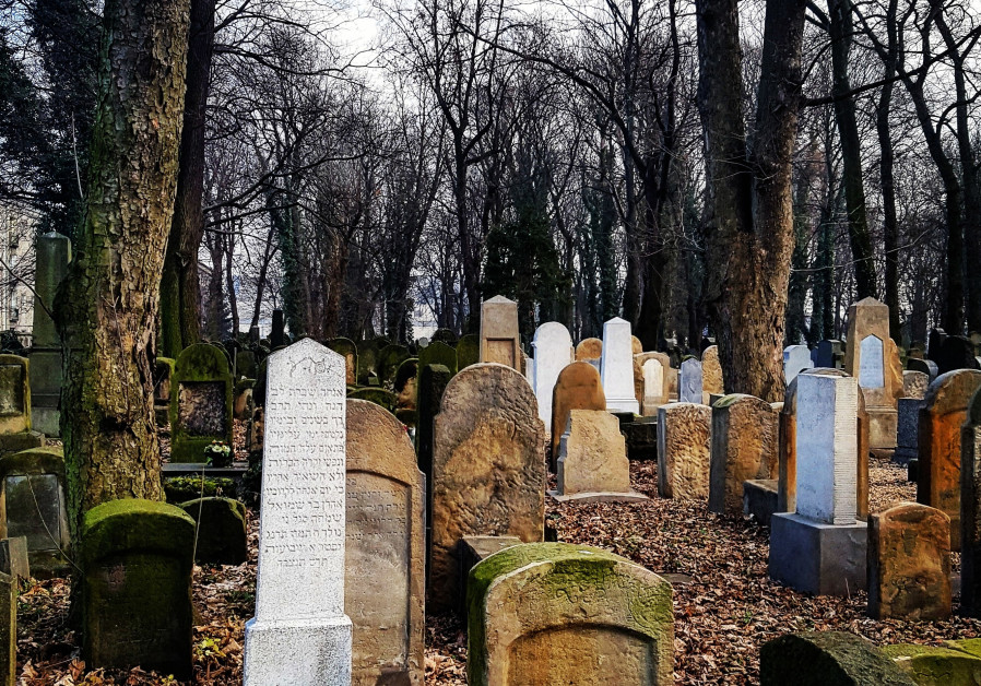 Inside the story: The New Jewish Cemetery in Krakow was established in 1800 and has over 20 sections.
