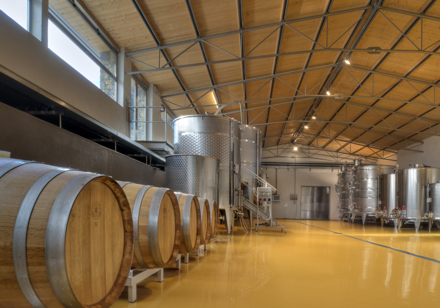A BEAUTIFULLY clean, bright winery.
