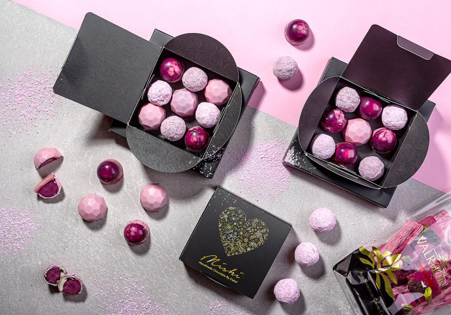 Mishi Valentine's Day chocolates (Danny Golan)