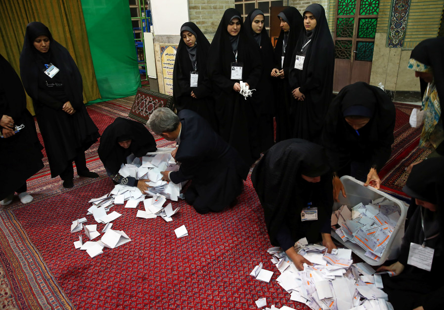 Candidates linked to Iran's Revolutionary Guards leading in election