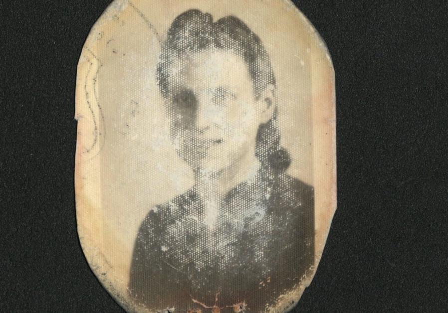 A photo of a Jewish woman who perished in Treblinka (Credit: United States Holocaust Memorial Museum via JTA)