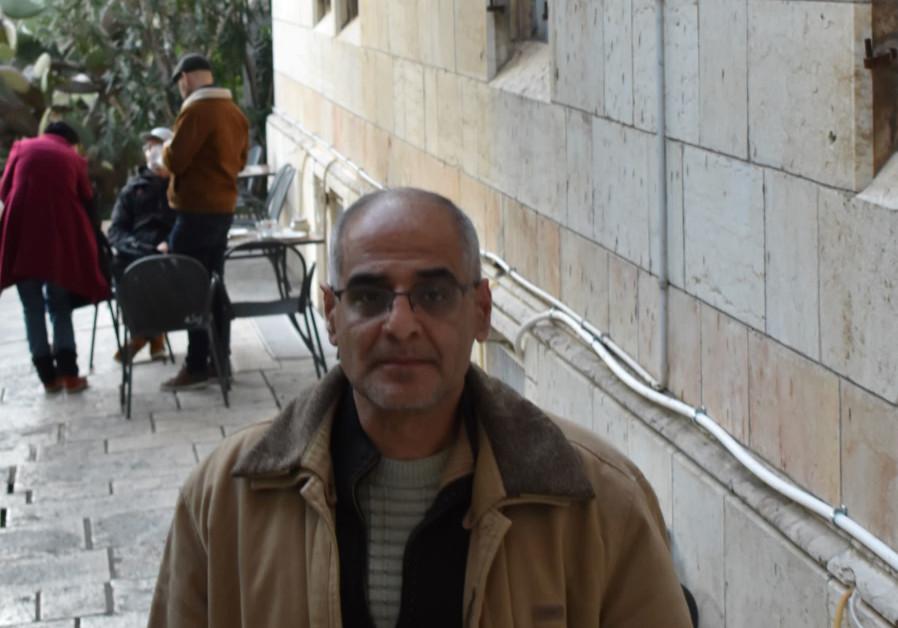 Robeen Falah Abu Shamsiyeh at the Austrian Hospice (Credit: Shakir Rimzy)