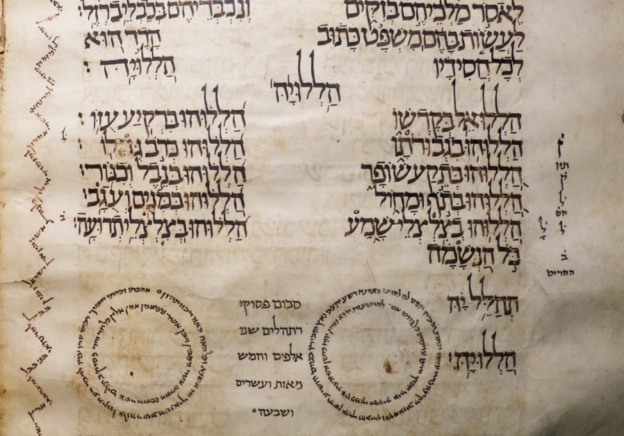 A page of the Zechariah Ben 'Anan manuscript dating back to 1028, rediscovered in Cairo by Ben-Gurion University Prof. Yoram Meital. (Credit: Courtesy of Yoram Meital)