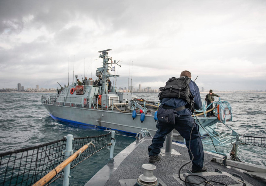 Israel's Navy on guard against Gazan terror groups (Credit: IDF SPOKESPERSON'S UNIT)