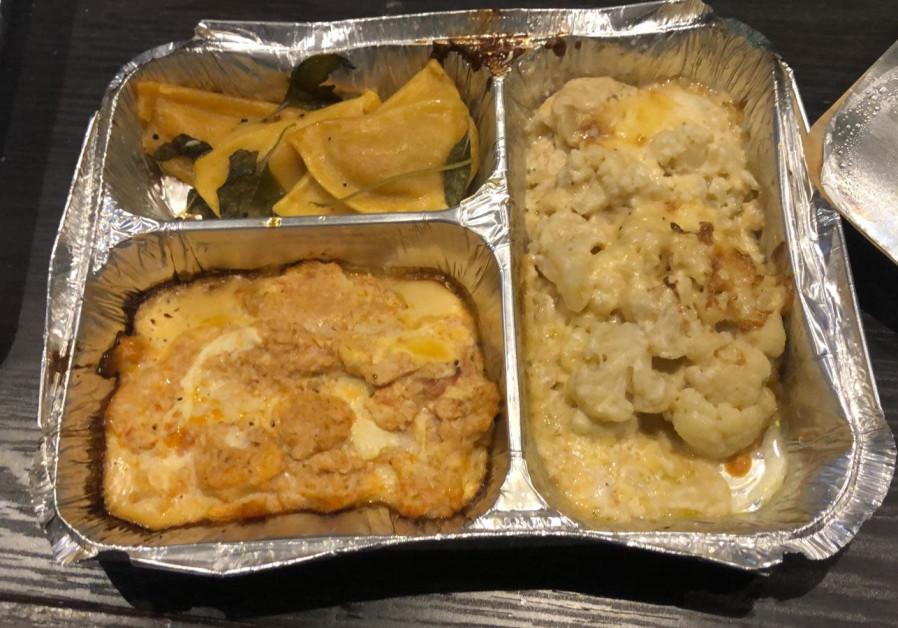 Not your average hotel food. (Credit: Amit Katzav)