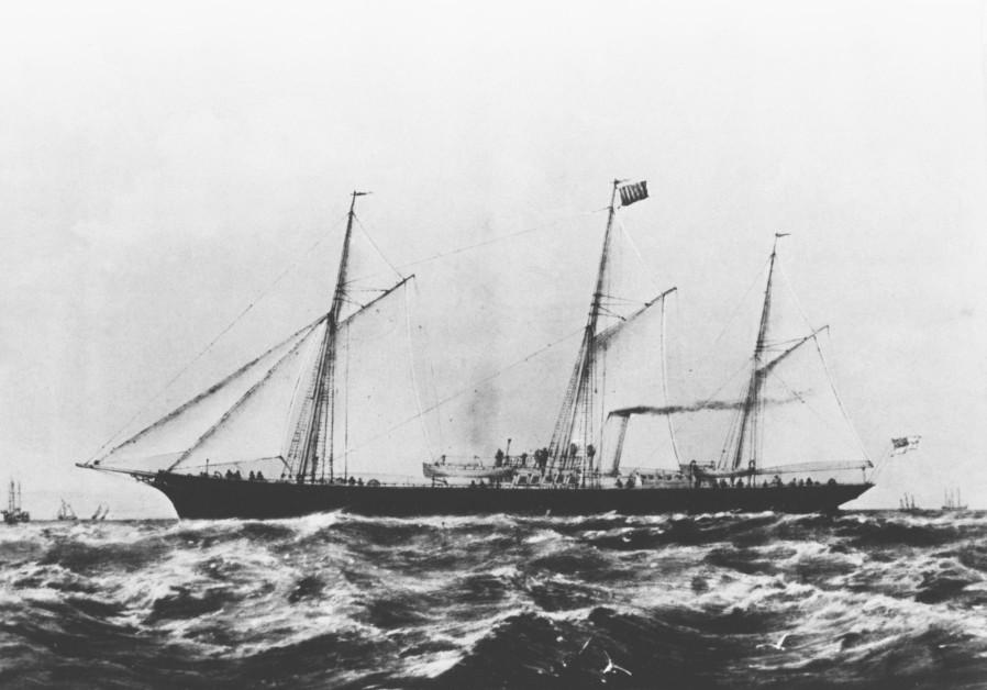 The ship Struma in 1890 (Credit: IDF Archives)