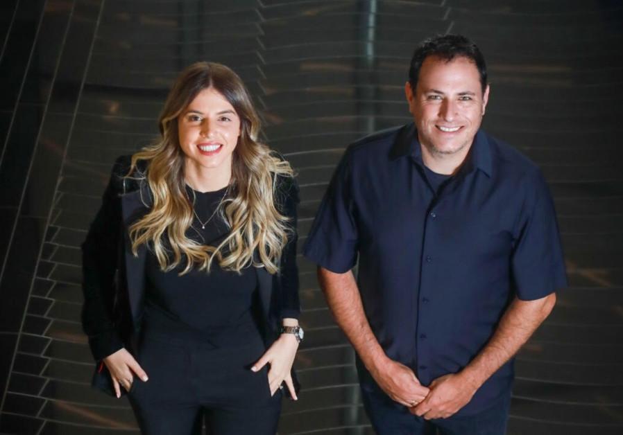 Brilliance Ventures managing partners Keren Maimon (L) and Ron Sadeh (Credit: Brilliance Ventures)