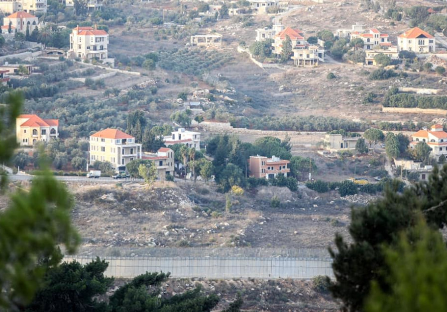 View onto the Lebanese side of the border with Israel (Photo Credit: Marc Israel Sellem/The Jerusalem Post))