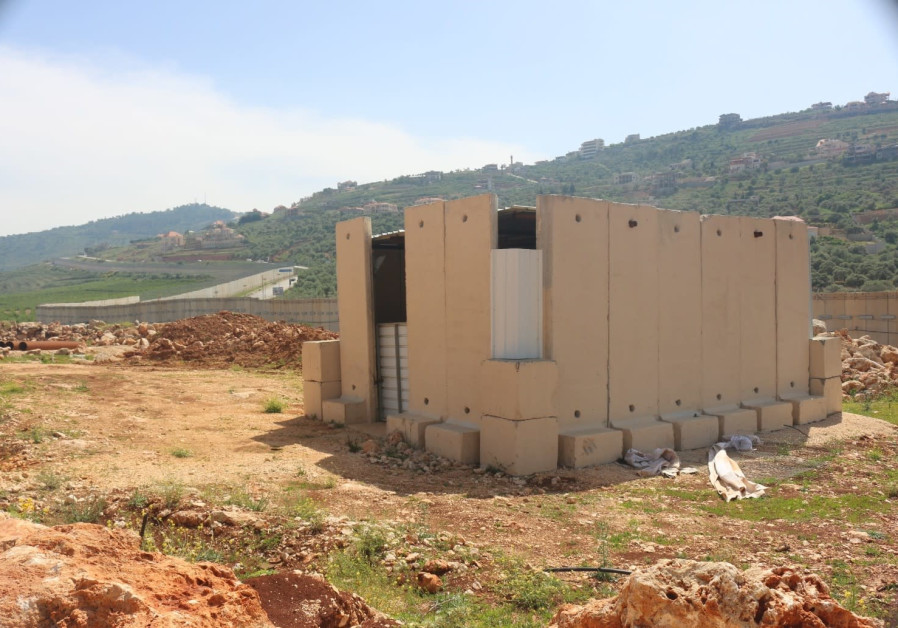 Location of the first cross-border attack tunnel dug by Hezbollah into a field belonging to the community of Metula (Photo Credit: Anna Ahronheim)