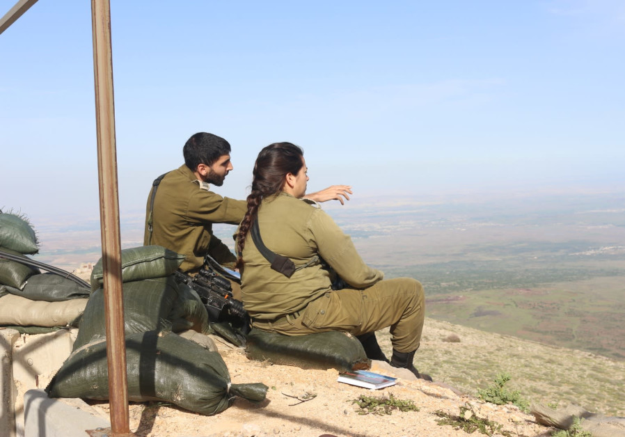 Overlooking southern Syria from the IDF's military post on Mount Hermon (Photo Credit: Anna Ahronheim)