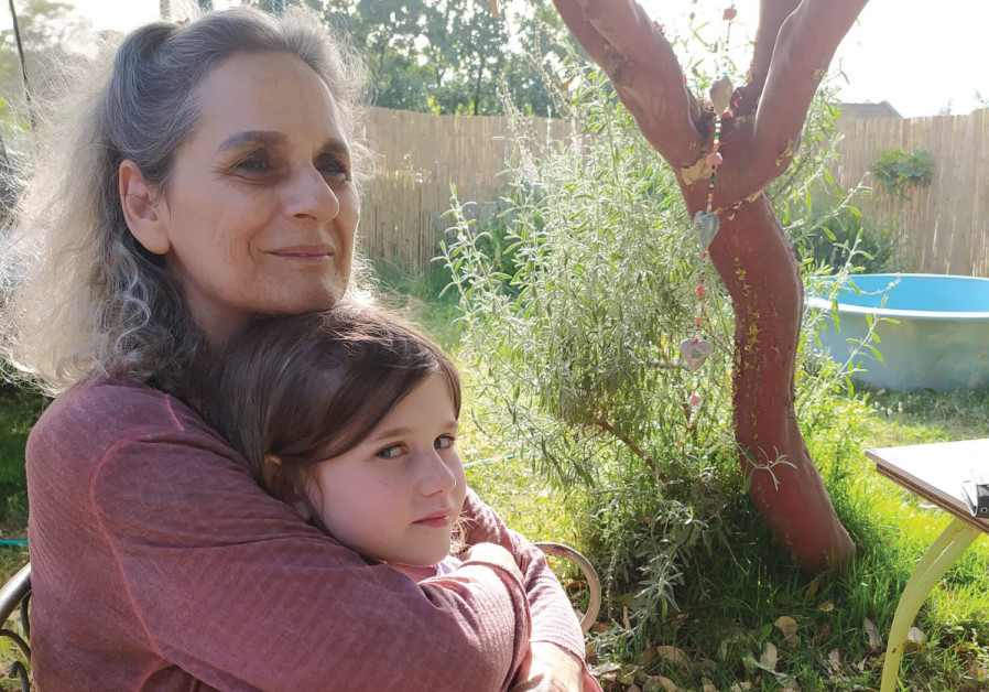 Four Mothers founder ZAHARA ANTEBI (with her granddaughter): 'For me, the trigger was the helicopter crash.'