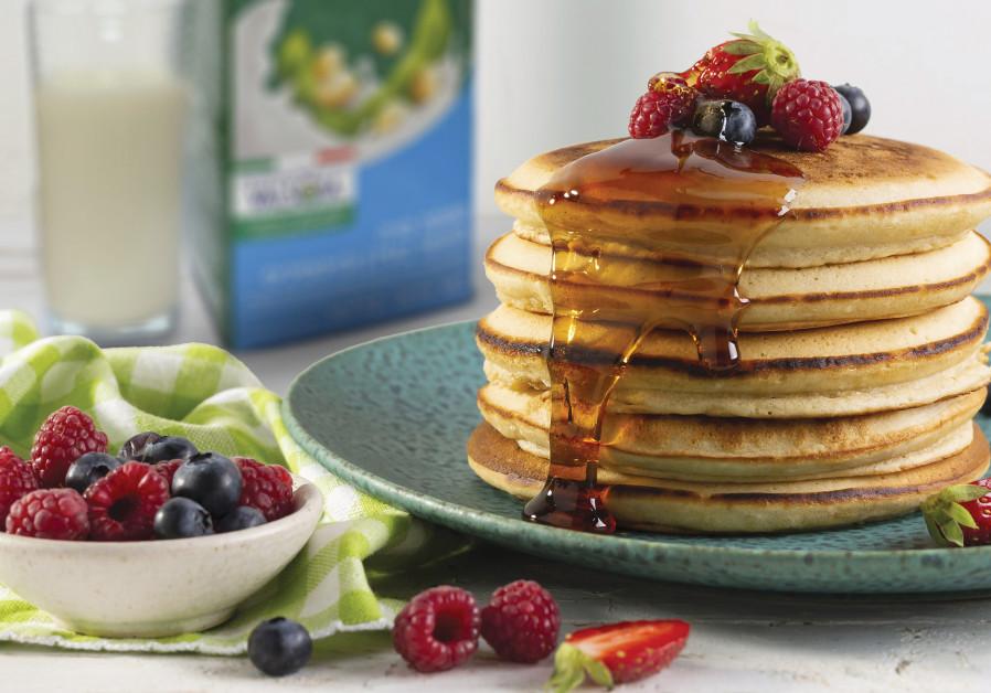Vegan pancakes (Photo Credit: Boaz Lavi)