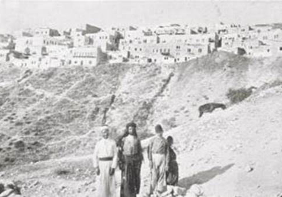 Safed in the 19th century. From the Lenkin Family Collection of Photography at the University of Pennsylvania Libraries