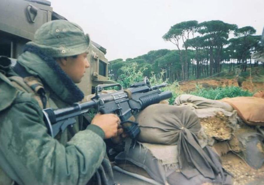 Lt.-Col. (res.) Shay Shemesh during his time in Lebanon (Photo Credit: Shay Shemesh)