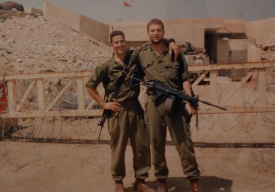 Col. Eran Oliel during his time in Lebanon (Photo Credit: Eran Oliel)