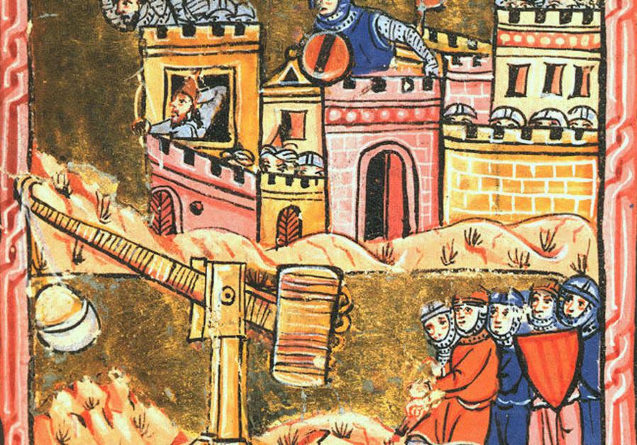 The Siege of Acre 1189-1191 (Photo Credit: WIKIPEDIA/BIBLIOTHEQUE MUNICIPALE DE LYON)
