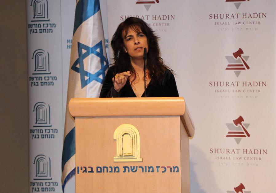 Nitsana Darshan-Leitner, President of Shurat HaDin (Credit: Shurat HaDin)