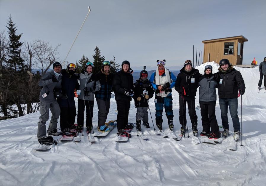Lone Soldier Veterans Skiing Shabbaton - Winter Retreat(Photo Credit: Rabbi Ari Abramowitz)