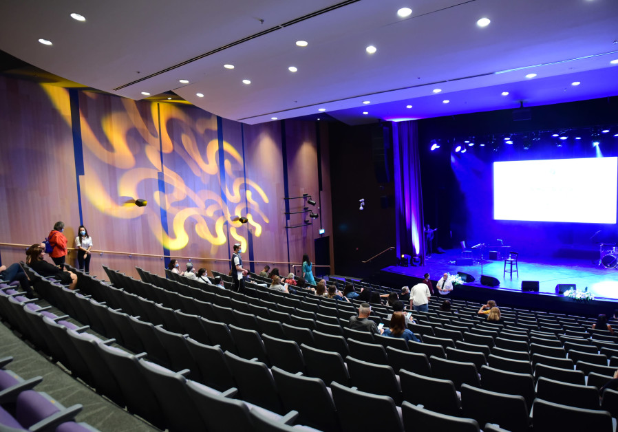 THE JEWEL in the center's crown is a 400-seater auditorium with state-of-the-art lighting and sound equipment (Credit: Yoni Kelberman/Tranquilo Productions)