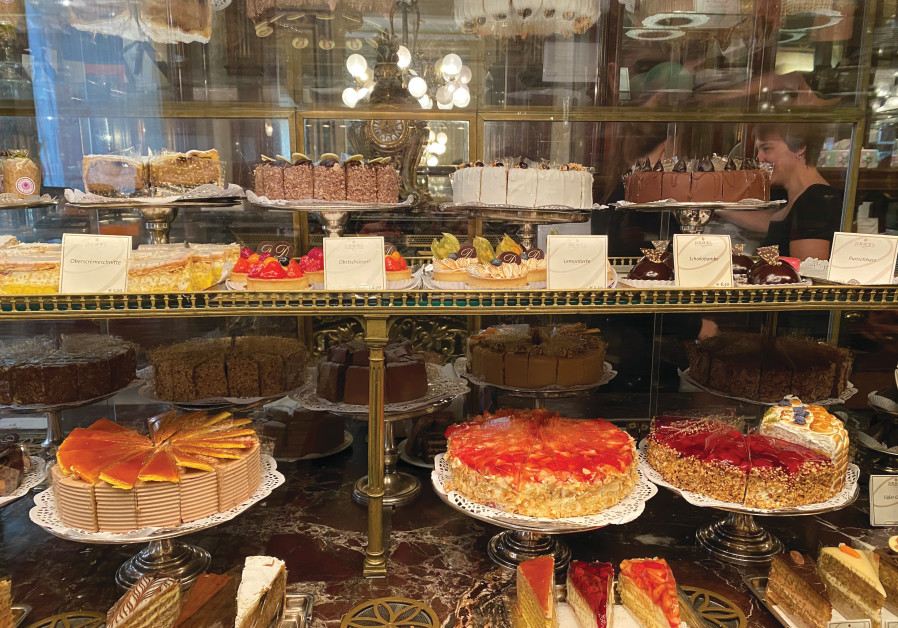 A DESSERT display at Demel (Credit: Courtesy)