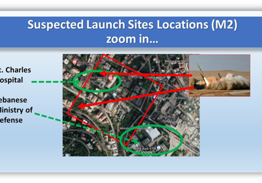 Suspected launch sites locations (Credit: ALMA RESEARCH AND EDUCATION CENTER)