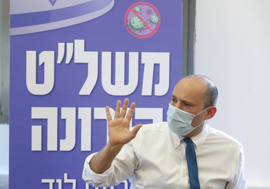 Naftali Bennett (Marc Israel Sellem / Jerusalem Post)
