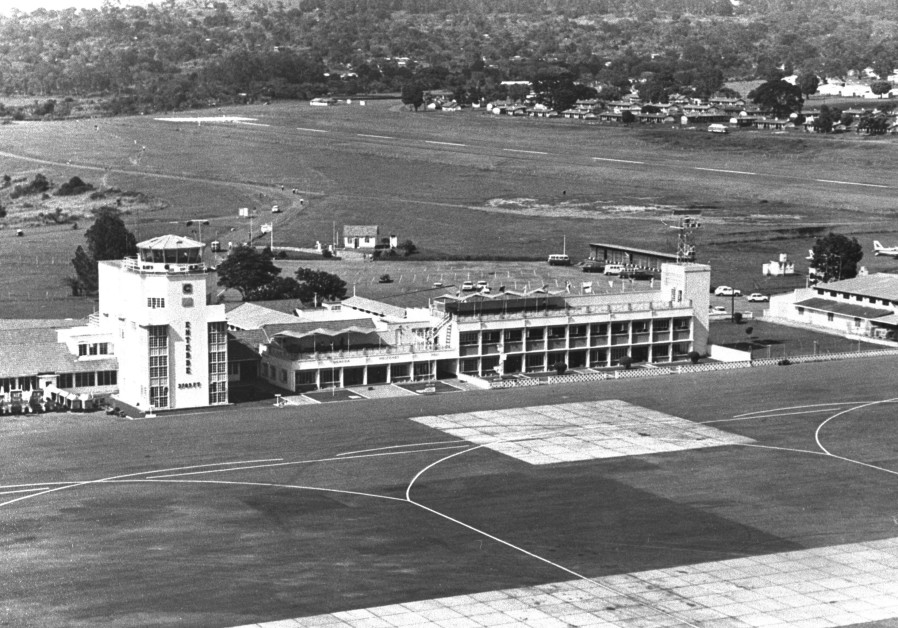Entebbe Airport, 1976 (Credit: GPO)