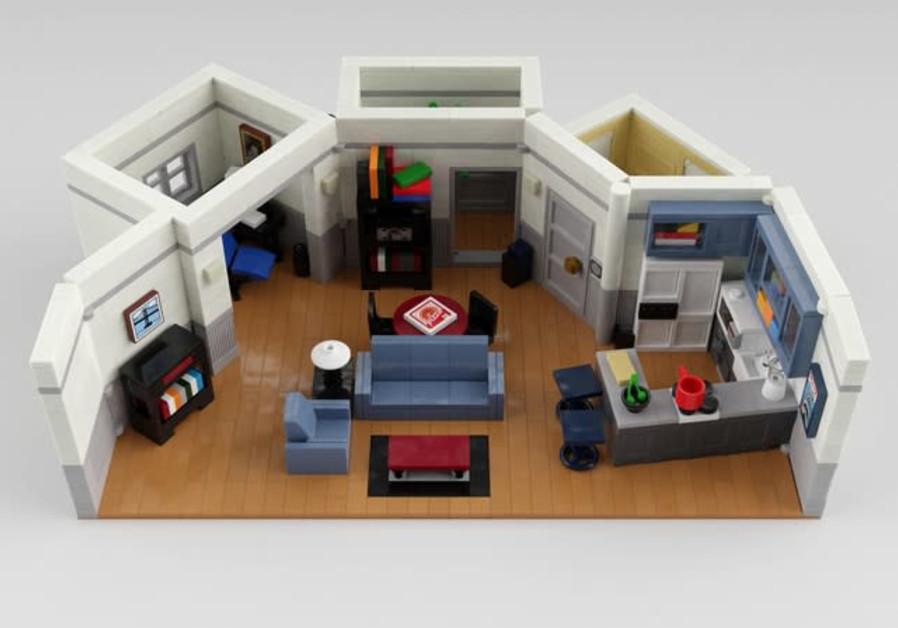 """Seinfeld"" apartment LEGO set (Credit: The LEGO Group)"