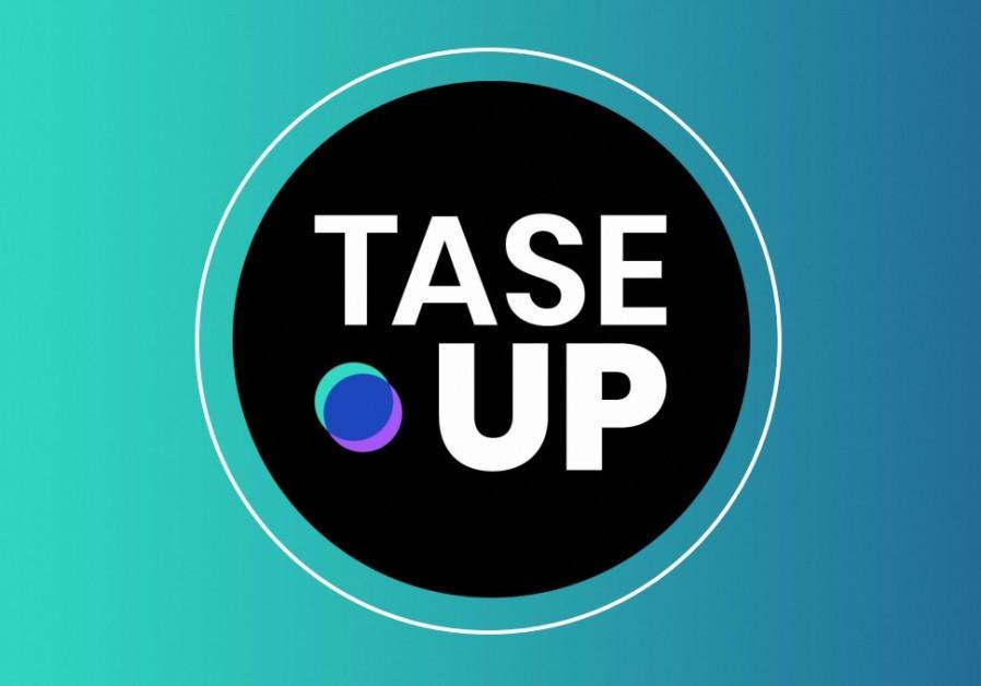 The TASE UP logo (Photo: courtesy)